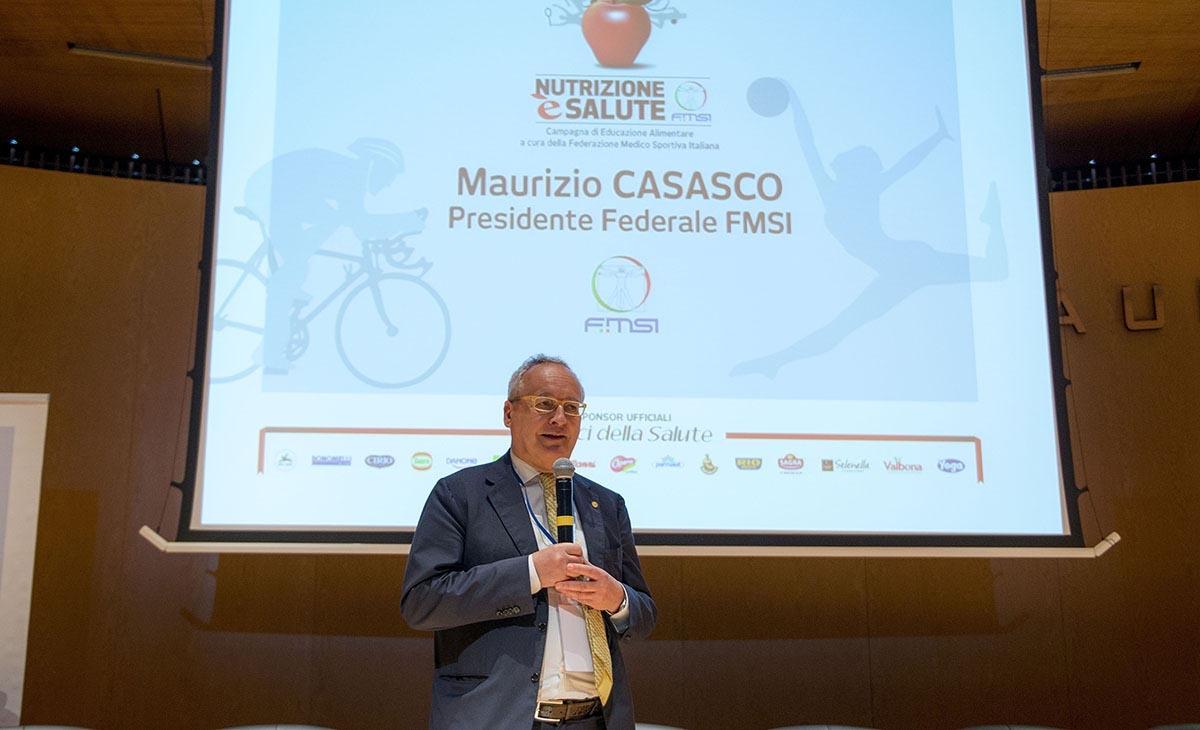 Maurizio Casasco - Presidente Federazione Medico Sportiva Italiana